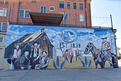 Texas Ranger Mural
