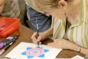 Coloring Not Childs Play At Seasonal Event