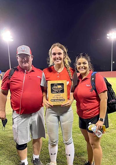 Texas Girls Coaches Association All-Star MVP