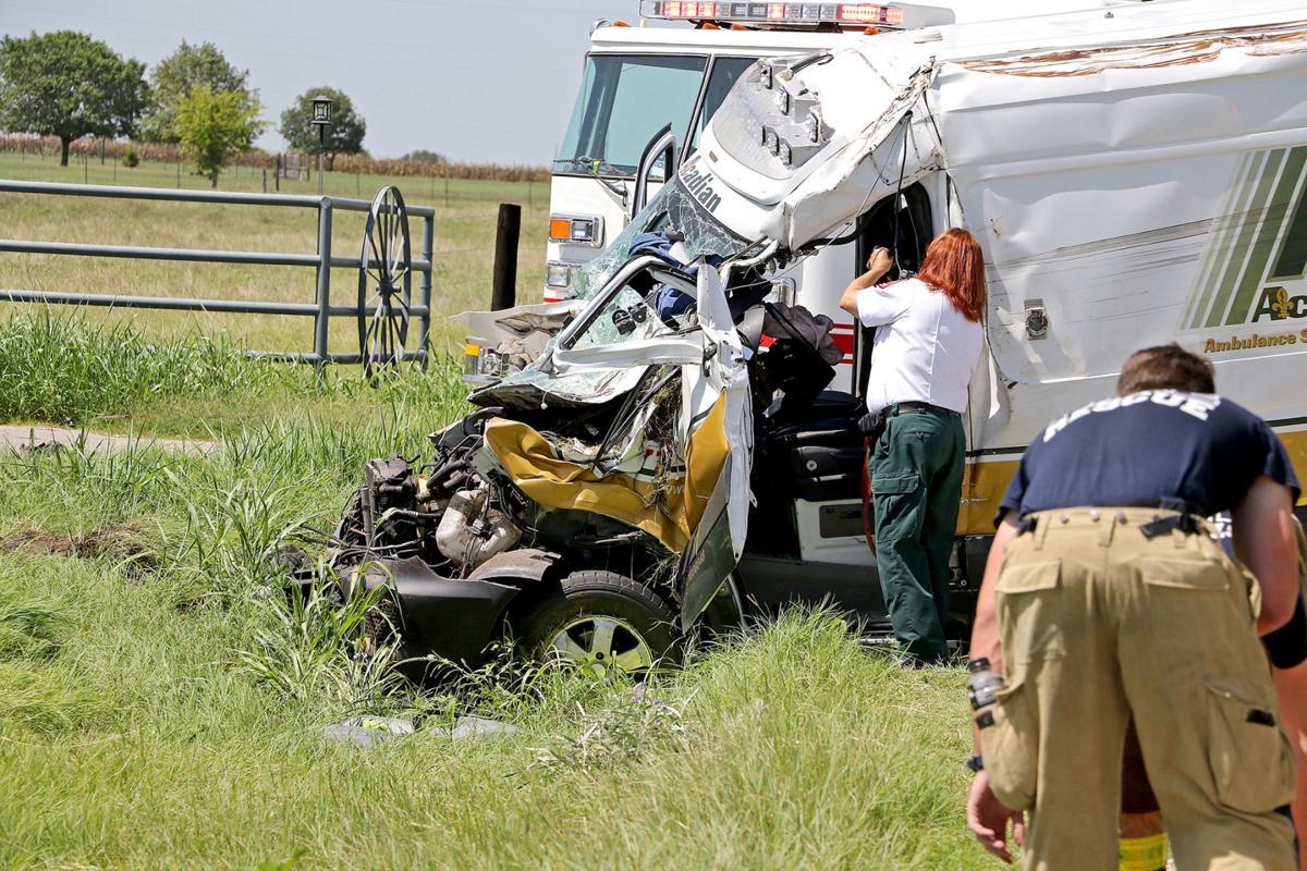 Ambulance crash