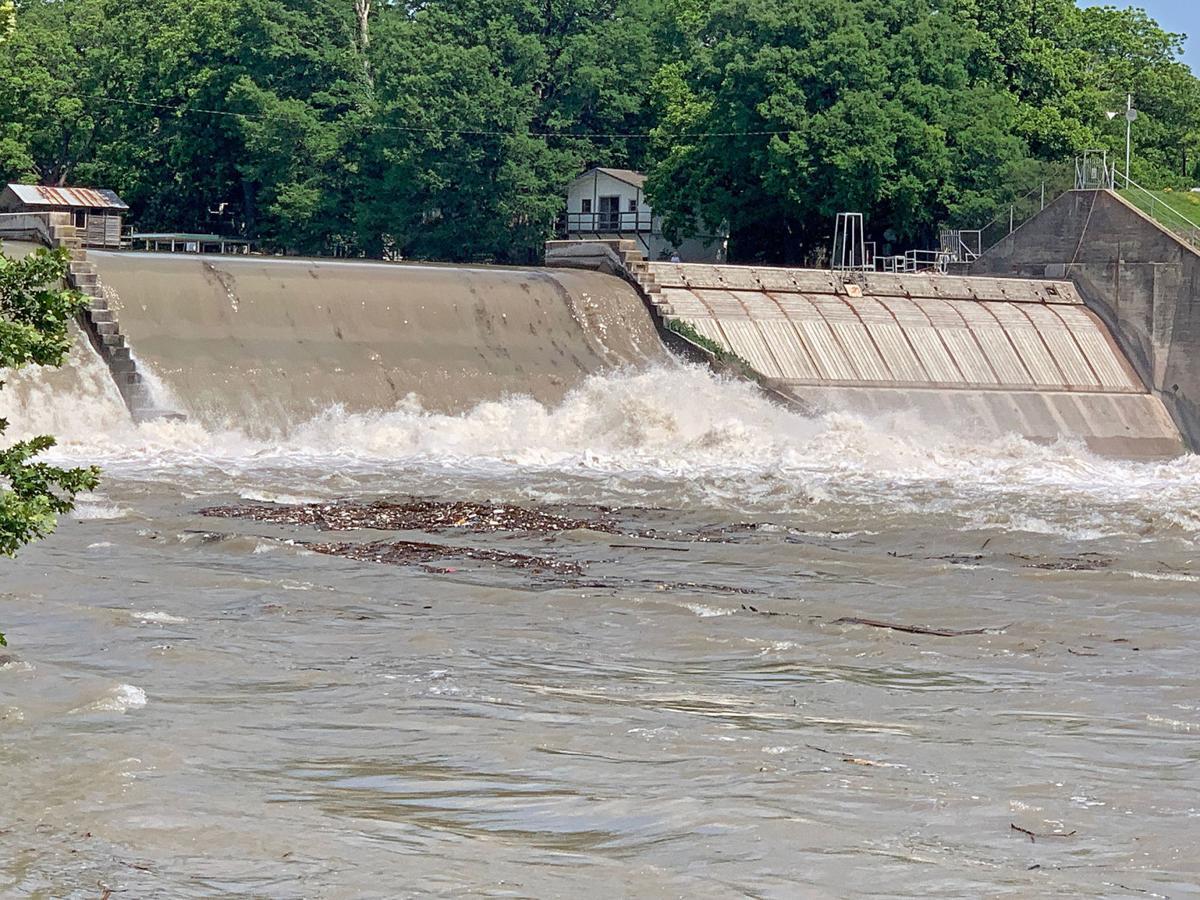 Lake McQueeney Dam