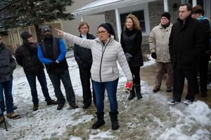 VIDEO: Perrysburg residents rally around vandalized home