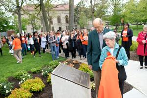 VIDEO: BGSU dedicates Bowen-Thompson Quadrangle