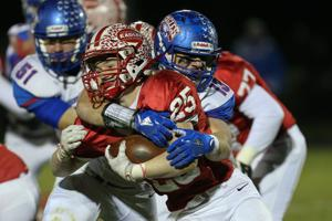 HIGH SCHOOL FOOTBALL:  NOV 09 - OHSAA Division V Playoffs - Liberty Benton at Eastwood