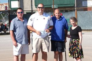 VIDEO: Tony Aspacher rewarded for dedication