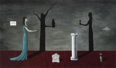 """Gertrude Abercrombie, """"Strange Shadows (Shadows and Substance)"""""""
