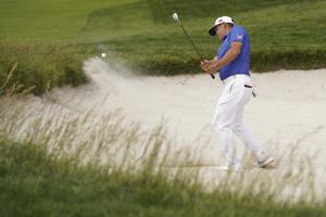 Woodland takes 1-shot lead over Rose in US Open