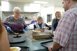 VIDEO: St. Mark's dishes out free meals with Wednesday Night Live