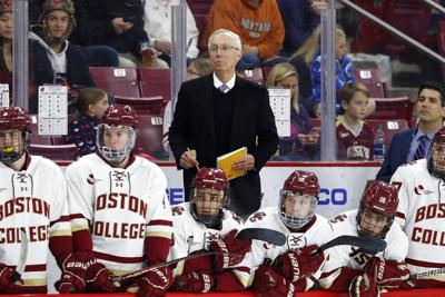 Wisconsin Boston College Hockey