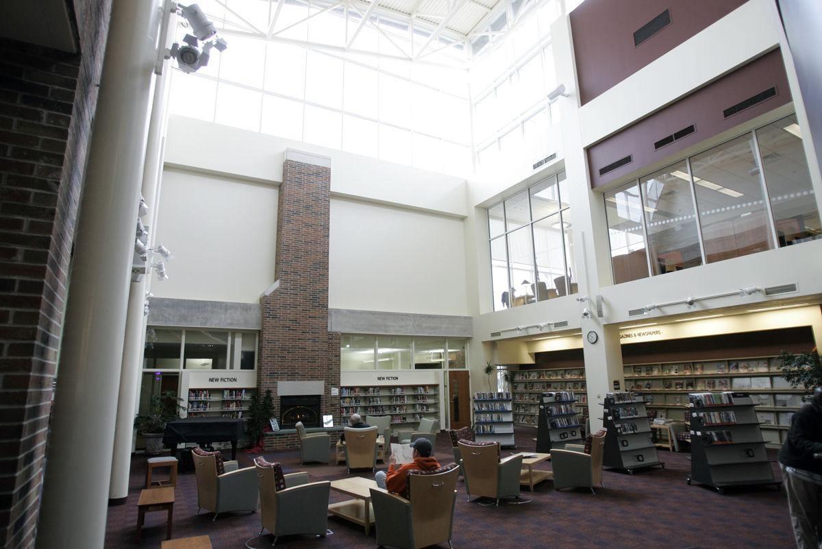 Library staff will continue to be paid through April