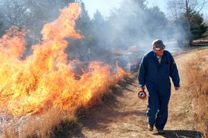 VIDEO: Prescribed burn at Wintergarden/St. John's Nature Preserve
