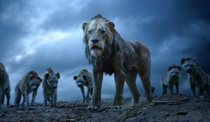 "<p>This image released by Disney shows Scar, voiced by Chiwetel Ejiofor, in a scene from ""The Lion King.""</p>"