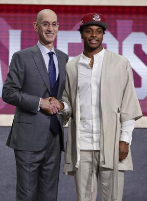 Point taken: Cavs select Garland with No. 5 pick in draft