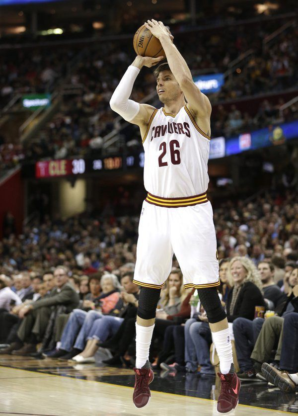 On target: Korver has the perfect shot as Cavs aim for title ...
