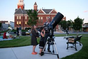 VIDEO: Under the stars on the Wooster Green