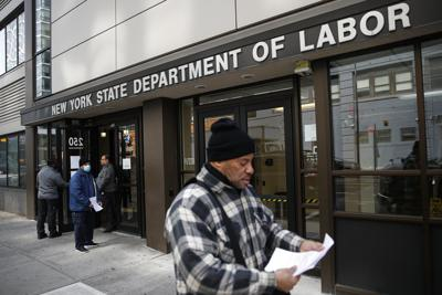 Virus-Outbreak Unemployment Benefits