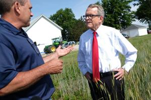 VIDEO: DeWine fields farmers' concerns