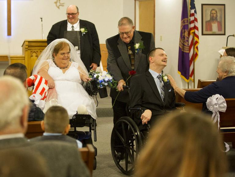 Disabled couples navigate red tape on way to altar