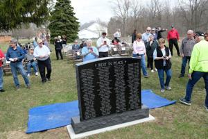 VIDEO: Paupers' Cemetery monument dedicated