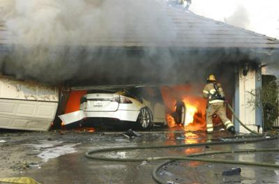 Electric Cars Battery Fires