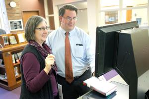 VIDEO: Wood County District Public Library now offers self checkout