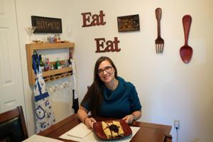<p>Holly Bird shows off her High Protein Low Carb Crepes made with protein powder.</p>