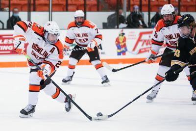 COLLEGE MEN'S ICE HOCKEY:  NOV 13 Adrian at Bowling Green