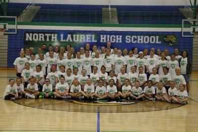2019 North Laurel Girls Basketball Camp