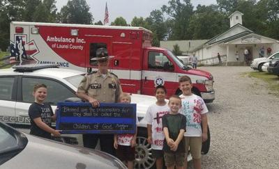 VBS honors first responders