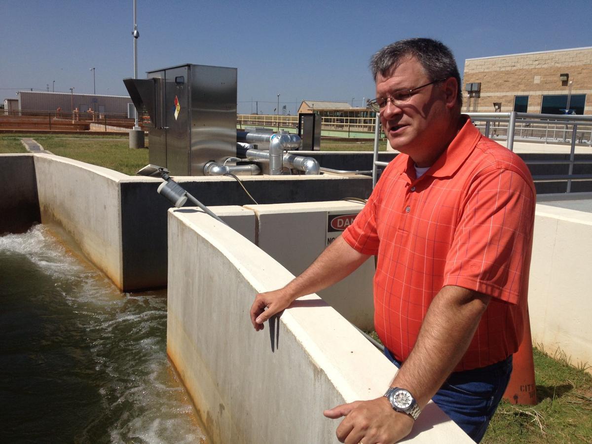 Wichita Falls water treatment plant