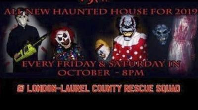 London-Laurel Rescue Squad's haunted house returning with more scares