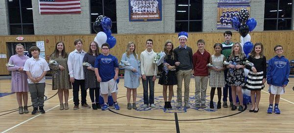 East Bernstadt Middle School honors homecoming king and queen