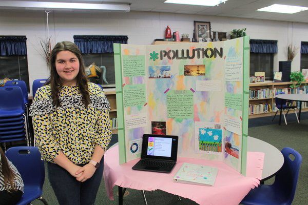 Environmental concerns dominate NLHS science fair