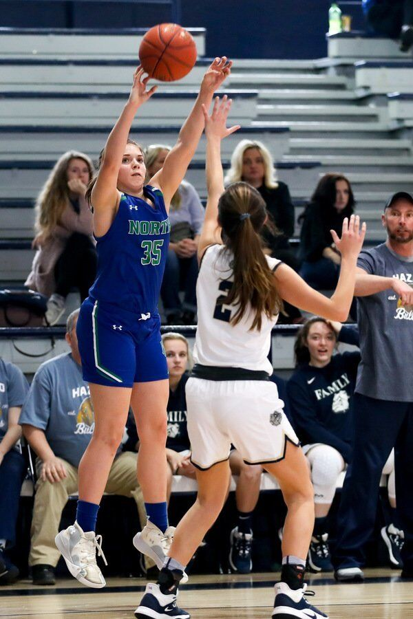 PICKING UP WHERE SHE LEFT OFF:<span>North Laurel's Halle Collins turning in impressive summer with Kentucky Premier16U EYBL team</span>