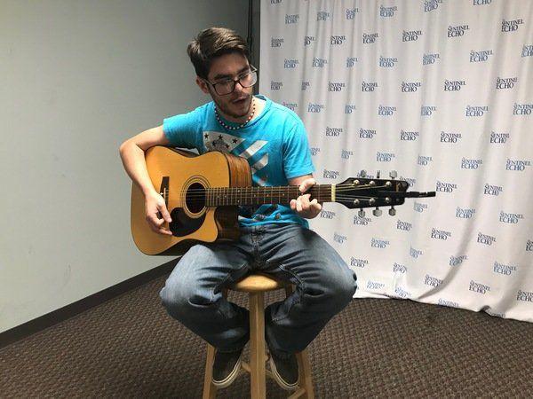 Austin Gray croons newsroom in Summer Music Series