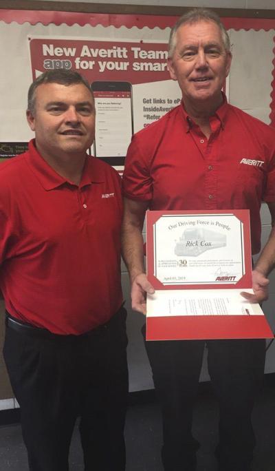 Averitt honors Corbin-London area associate for 30 years of service
