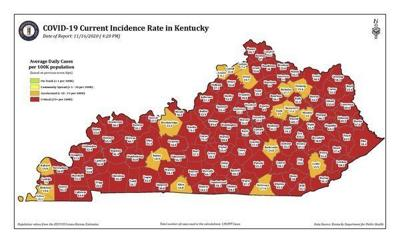 <b>If numbers don't improve, more restrictions likely, Beshear says</b>