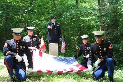 Local man helps give proper memorial to Marine who died in 1945
