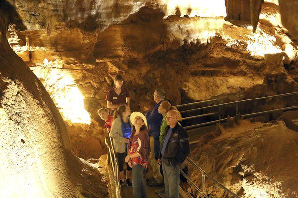 HEART OF THE BLUEGRASS: <span>'Little and pretty:' It's what sets Diamond Caverns apart</span>