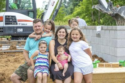 Dezarn family in London 'blown away' to receive Mountain Outreach house