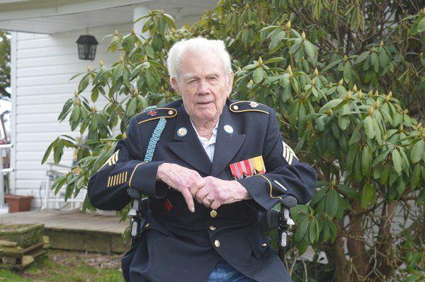 Local WWII veteran turns 100