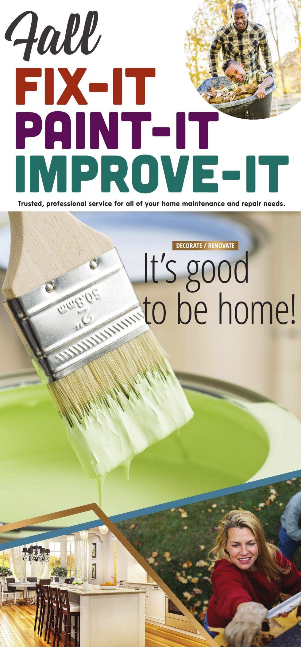 Fall Home Improvement