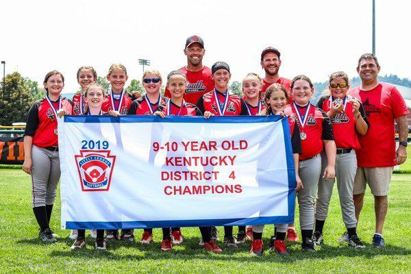RUNNING DOWN A DREAM:<span>South Laurel's 9-10 year-old All-Stars softball team hopes to bring home a state championship</span>