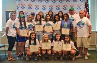 North Laurel High Softball team