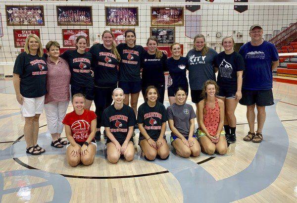 South Laurel Alumni Volleyball action ...