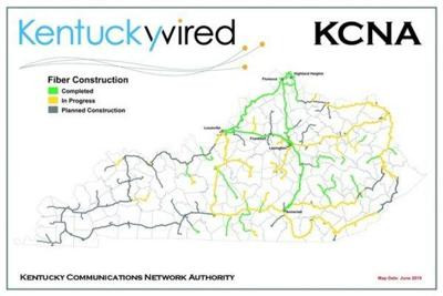 First phase of KentuckyWired Project completed