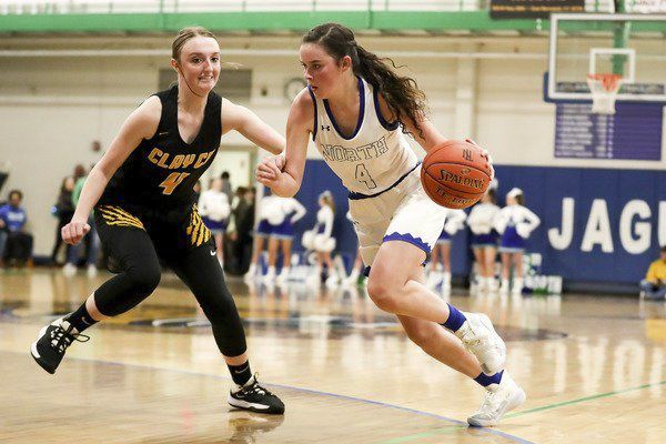 Lady Jaguars shut out Clay County in second quarter on way to 68-33 win