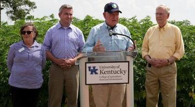 U.S. Agriculture Secretary tours Kentucky hemp processor and research farm