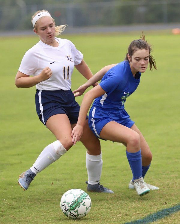 ROLLING ALONG: <span>North Laurel blows out Knox Central during 6-0 win</span>