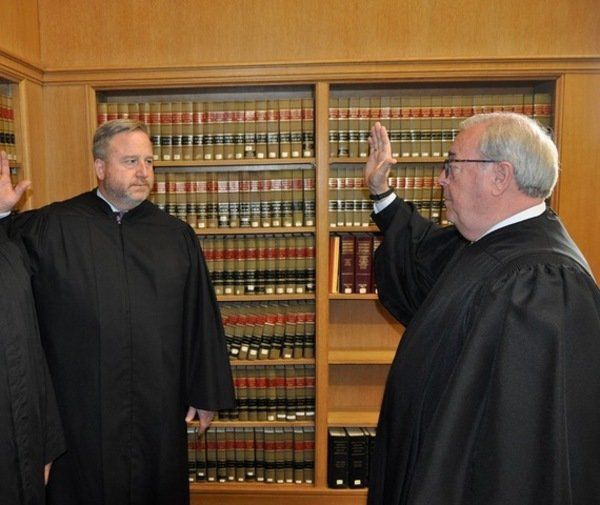 Webster commissioned as Supreme Court Special Justice